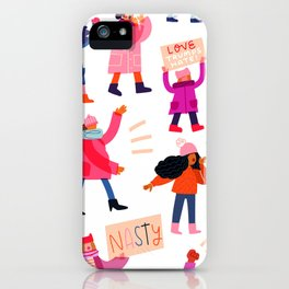 Marching Together iPhone Case