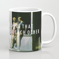 vampire weekend Mugs featuring Summer Weekend by Modern Vampires of Art History