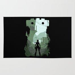 Lara Croft Rug