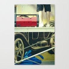 Graff 1 Canvas Print