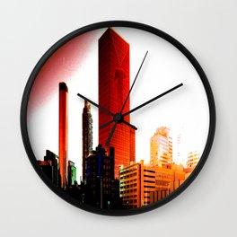 Rise ATL Wall Clock