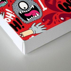 AAAGHHH! PATTERN! Canvas Print