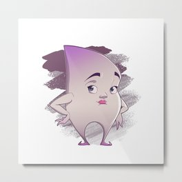 Trudy Tooth Fairy Metal Print