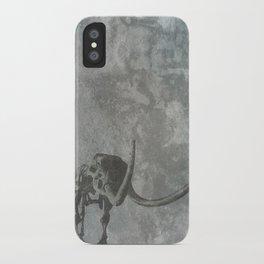 Half Tone Mammoth iPhone Case