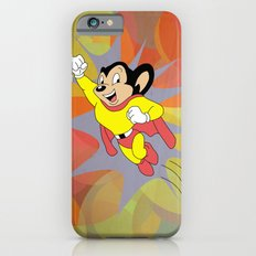 Mighty Mouse - Circles iPhone 6 Slim Case