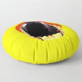 Daft Low Poly Punk Floor Pillow