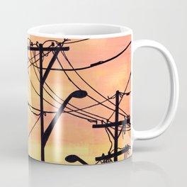 Industry poles sunset Coffee Mug