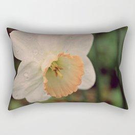 Rainy Day Daffodil Rectangular Pillow