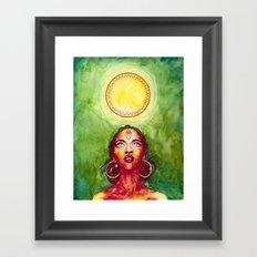 The New Day Framed Art Print