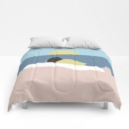 Feelings into sunset Comforters