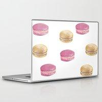 macaron Laptop & iPad Skins featuring Macaron, Macaron by Malina Syvo
