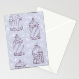 Birdcages Stationery Cards