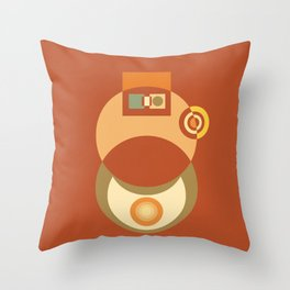 Colorplay G. 2 Throw Pillow