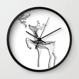 Bambi Wall Clock