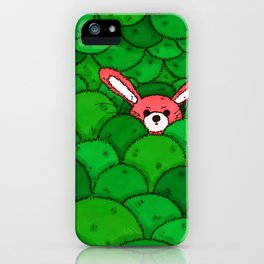 Where is Bunny? iPhone Case