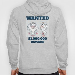 Wanted Poster Abominable Snowman Hoody