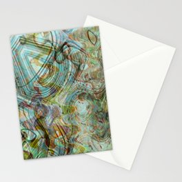Seven Mermaids Singing Stationery Cards