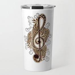 Musical  Note Travel Mug