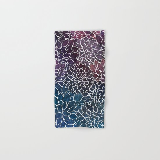 Floral Abstract 21 Hand & Bath Towel