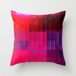 DIGITAL GLITCH 1 Throw Pillow