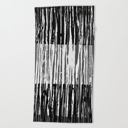 Abstract Composition 691 Beach Towel