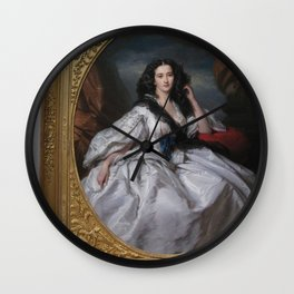 Picture of a Picture of a Beauty Wall Clock