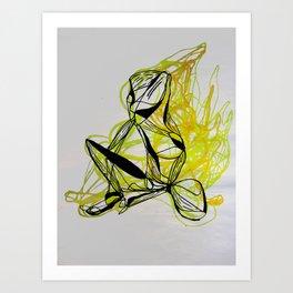 ÁMBAR Art Print