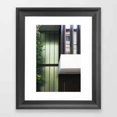 Architectural colage Framed Art Print