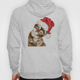 Christmas Baby Cat Hoody