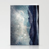 northern lights Stationery Cards featuring Northern lights by LisaB