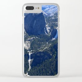 Vernal Falls And Nevada Falls Clear iPhone Case
