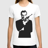 james bond T-shirts featuring James Bond 007 by Walter Eckland