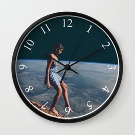 Going to Unknown World Wall Clock