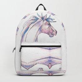 Stallion Pattern Backpack