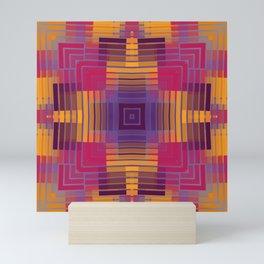 Happy Grids Mini Art Print