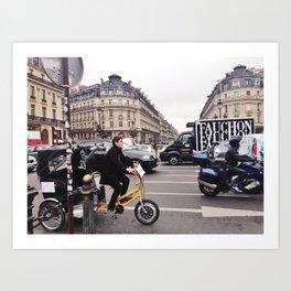 Urban Paris Art Print