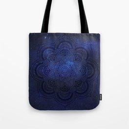 Cosmic Mandala Tote Bag