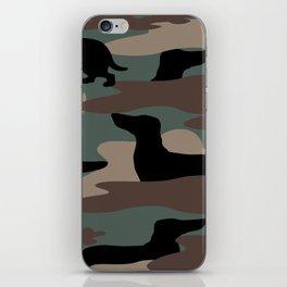 Camo Weiner Dogg iPhone Skin
