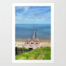 Saltburn Pier Art Print