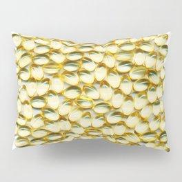 Liquid Softgels Pills Vitamins Art Pillow Sham