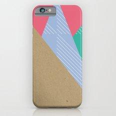 Cardboard & Combo Stripes iPhone 6 Slim Case