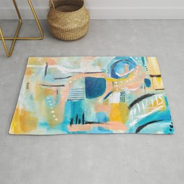 Summer Day Deconstructed Rug