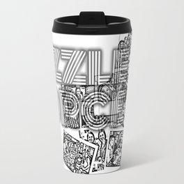 Fizzle Force Photocopy Travel Mug