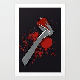 Let me ax ya something Art Print