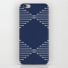 Geo / Navy iPhone Skin
