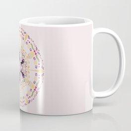 Cat & Sakura Mandala Coffee Mug