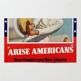 Arise Amricans Rug