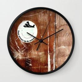 Urban Abstract 107 Wall Clock