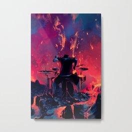 Rage Metal Print