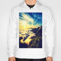 mountains Hoodies featuring Mountains. by 2sweet4words Designs